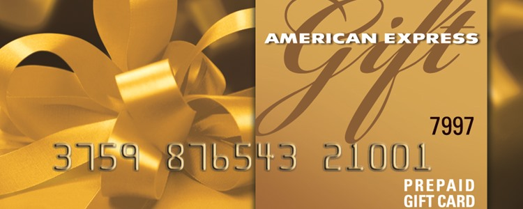 American Express® Gift Cards make great Christmas or Holiday gifts